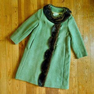 Vtg Swing Coat